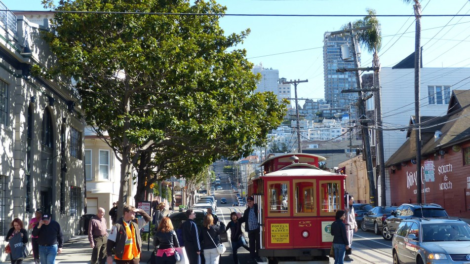 Per Cable Car durch San Francisco