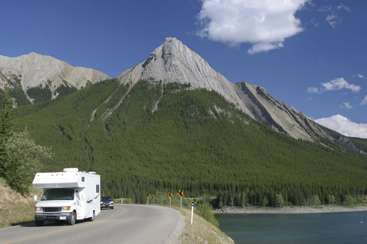 usa mit dem wohnmobil durch die rocky mountains. Black Bedroom Furniture Sets. Home Design Ideas