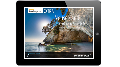 MARCO POLO travel magazine EXTRA: Neuseeland