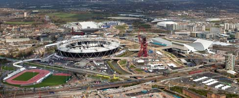 Olympic Parc - via London 2012 / LOCOG