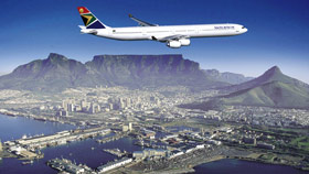 Mit SOUTH AFRICAN AIRWAYS nach Südafrika