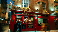 Pub in Temple Bar in Dublin