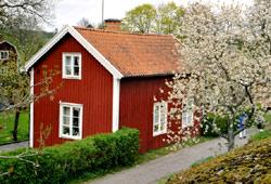 Schwedisches Holzhaus schweden romantisch heile holzhaus welt