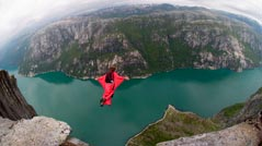 Base-Jumper in Norwegen