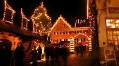 Weihnachtsmarkt Hexenagger.Historische Weihnachtsmärkte In Burgen Schlösser Deutschlands