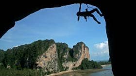 Kletterin Railay Beach