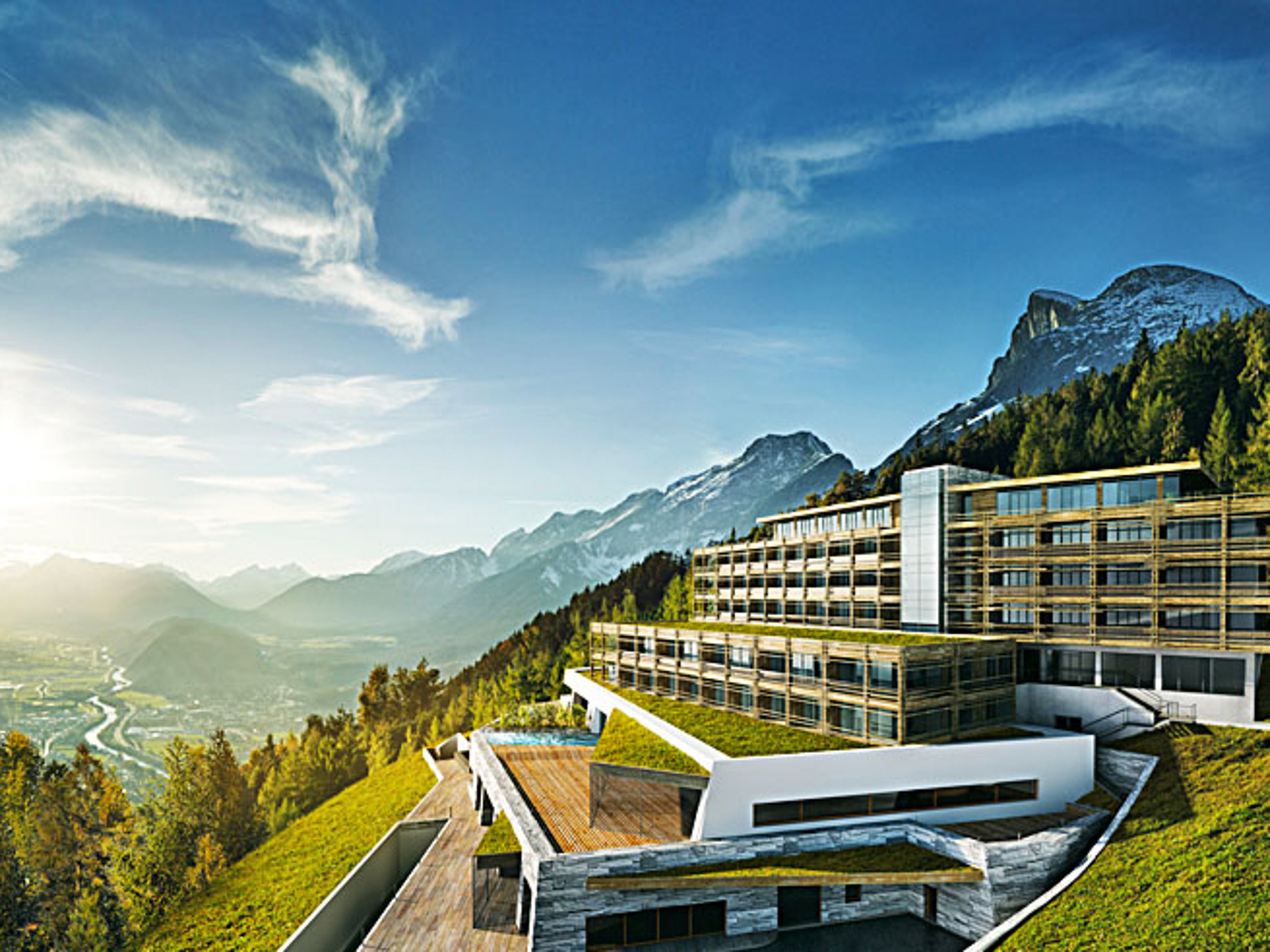 Design hotel in den tiroler alpen romantik wellness und for Designhotels in den alpen