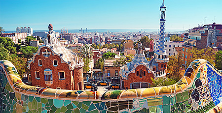 Park Guell in Barcelona © fazon1, iStock