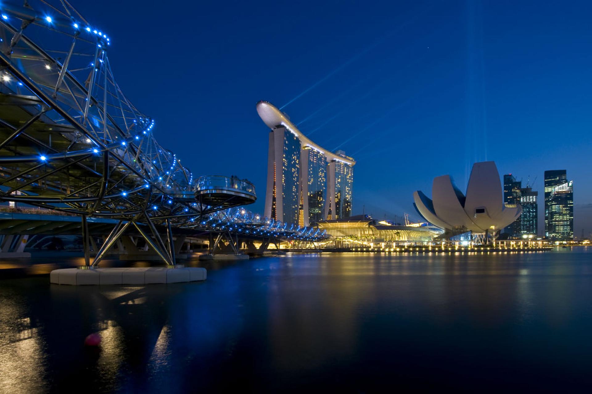 Singapur Singapur – Stadt der Superlative