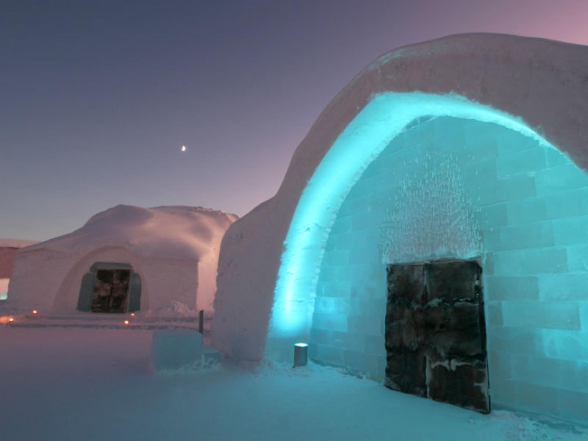 Schweden Absurde Baubestimmungen: Eishotel braucht Brandmelder