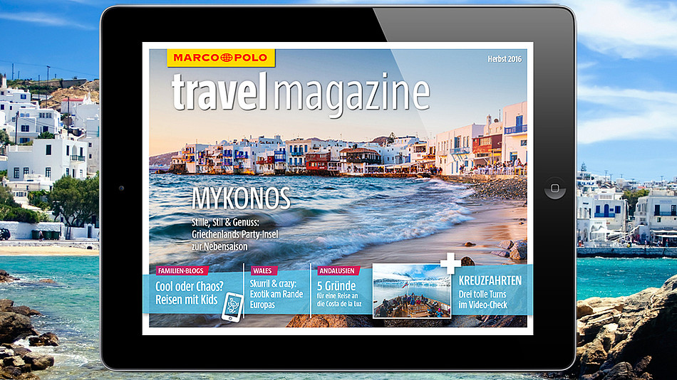 MARCO POLO travel magazine Herbst 2016