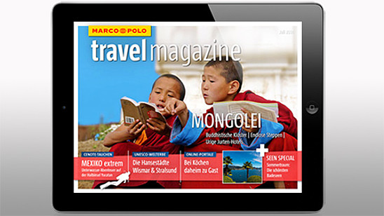 MARCO POLO travel magazine: Juli 2014
