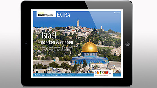 MARCO POLO travel magazine EXTRA: Israel