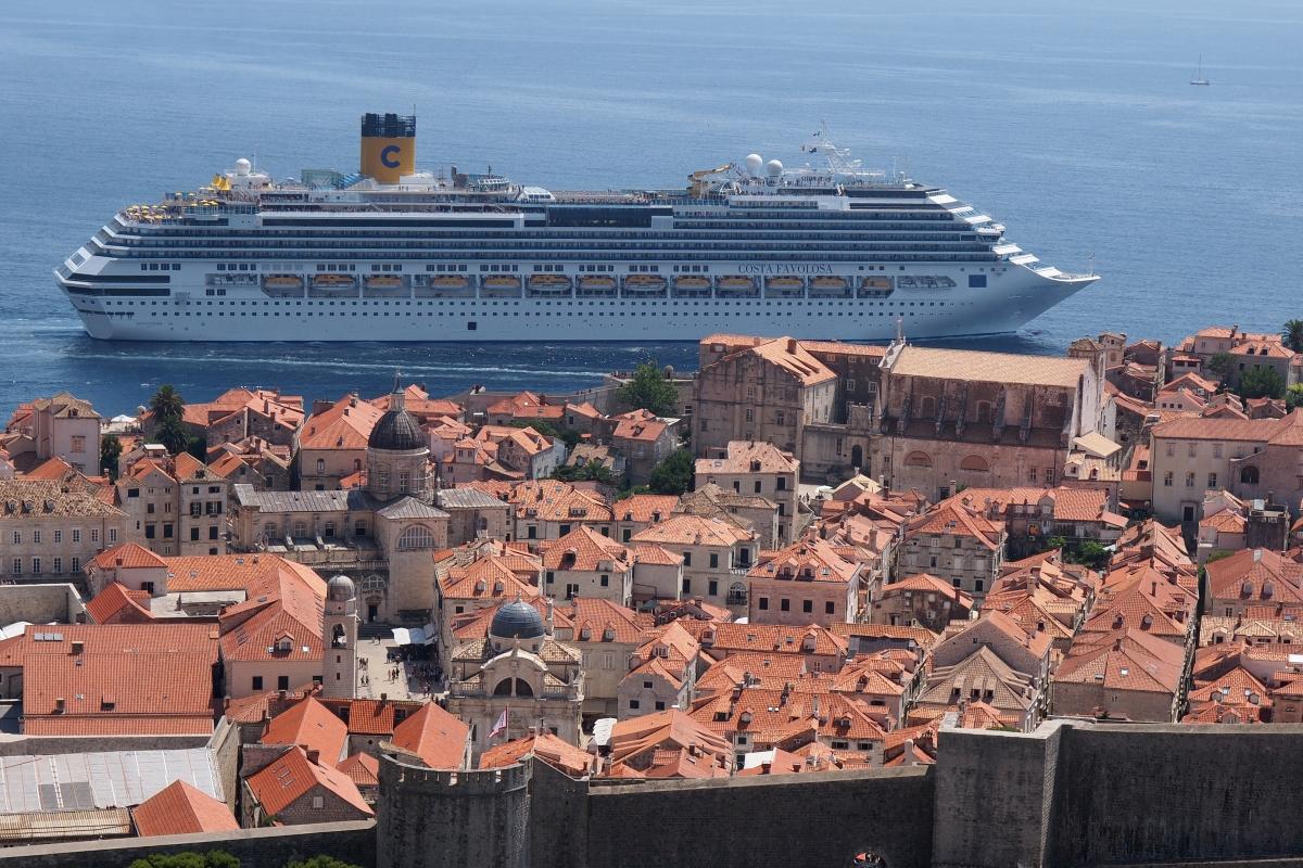 Zu viele Billigtouristen Dubrovnik beschränkt Zahl der Kreuzfahrtschiffe