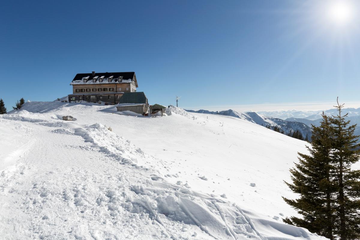 Winterwandern Diese Berghütten haben jetzt noch geöffnet