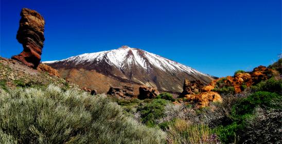 Der Teide Auf Teneriffa Hinauf Auf Den Höchsten Berg Spaniens