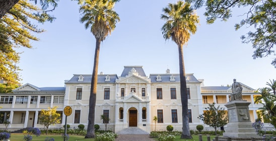 Traditionelles Townhouse in Stellenbosch  ©stockphoto