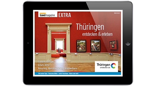 MARCO POLO travel magazine EXTRA: Thüringen